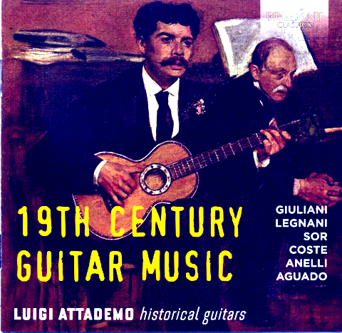 Attademo 19 Century Guitar Music CD
