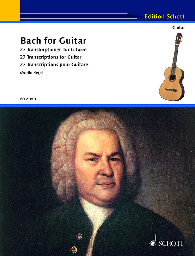ED 21601 Hegel Bach for guitar