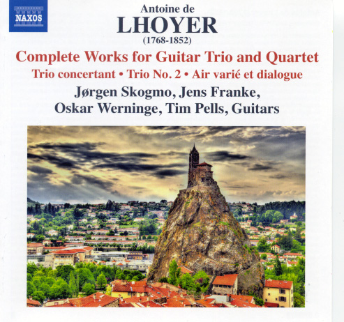 Hoyer Complete Works for Guitar Trio and Quartet CD