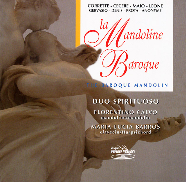 Mandoline Baroque CD