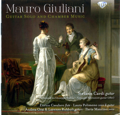 Mauro Giuliani Guitar Solo and Chamber Music
