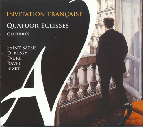 Quatuor Eclisses Invitation Francaise CD