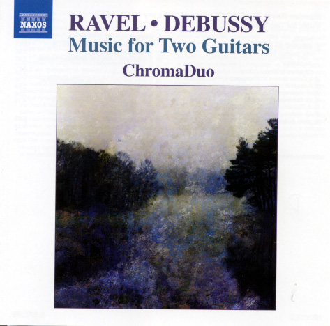Ravel Debussy Music for two guitars