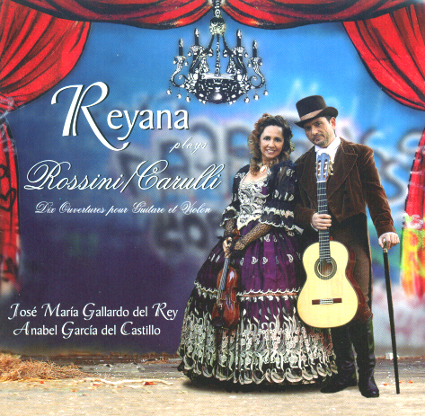 Reyana plays Rossini Carulli CD