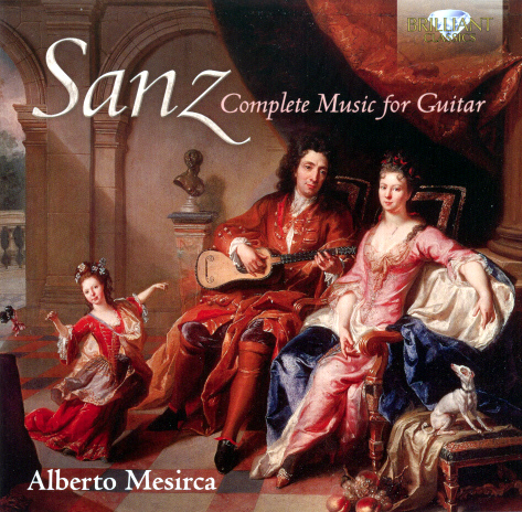 Sanz Complete Music for Guitar CD