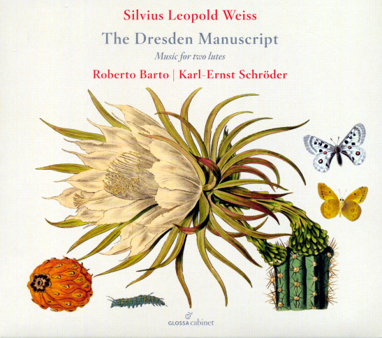 Silvius Leopold Weiss The Dresden Manuscript CD